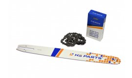 Vodící lišta 50cm + pilový řetěz 72 článků 3/8 1,5mm pro Husqvarnu