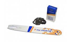 Lišta 40cm + řetěz 60 čánků 3/8 1,6mm pro Stihl