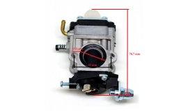 Karburátor ECHO REDMAX 15 mm, AL-KO BC4535, BC4125, BC410, HECHT, ČÍNSKÉ KŘOVINOŘEZY