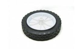 Univerzální kolo 175mm - plastové + ložisko, pryžová pneumatika