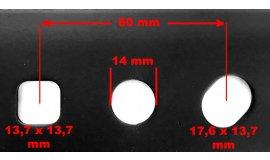 Žací nůž motorových sekaček NAC URSUS 20